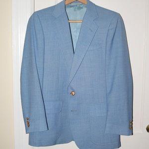 Baby blue suit jacket